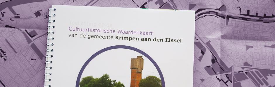 Cultuurhistorische beleidskaart Gemeente Krimpen aan den IJssel