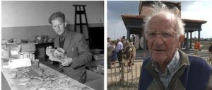 Jan Trimpe Burger in vroeger tijden en na zijn pensionering. Hazenberg Archeologie heeft twee van zijn opgravingen mogen helpen afronden, Goedereede Oude Oostdijk en Aardenburg.